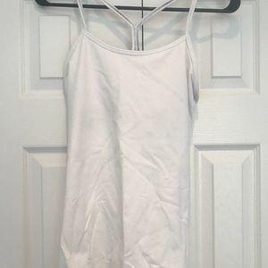 Barely worn Lululemon Power Y workout tank